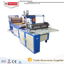 Plastic book cover sealing machine for A4 file