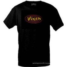 [Stunningl]Wholesale fashion hot sale T-shirt A80,el t-shirt,led t-shirt