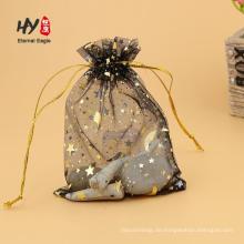 Einzigartige Organza Chiffon Beutel transparent Geschenktüten