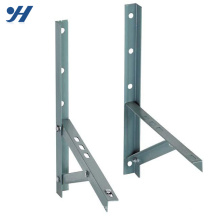Suporte do sistema de revestimento em pó de construção 45 graus suporte de ângulo, suporte de corrente alternada, suporte de aço inoxidável
