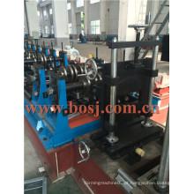Sistema galvanizado Andaimes Placa de aço rolo formando máquina de produção Egito