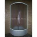 Duschraum mit weißem Finish (E-18White)