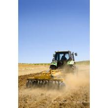 machine de herse de disque de tracteur de jardin / herse de ferme pour le meilleur prix