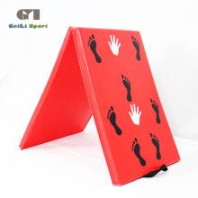 Идеальная качественная гимнастическая циновка на стойке для рук