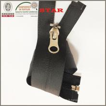 Black Industrial Waterproof Zipper (# 5)