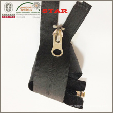 Black Industrial Waterproof Zipper (#5)