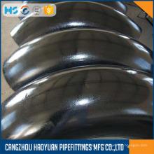 Schedule 40 Carbon Steel Codo de acero de 90 grados