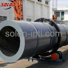 Secador de tambor rotativo de serradura amigável ao meio ambiente
