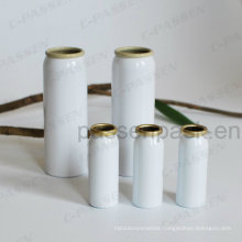 White Aluminum Aerosol Can for Medical Mist Spray Packaging (PPC-AAC-037)