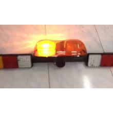Heavy Duty Vehicle Warning Emergency Amber Led Mine Bar Mining Light Bar with Mini Beacon Reverse Speaker Work Lihgt