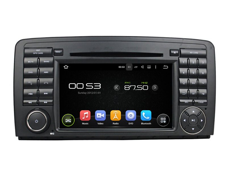 Android 7.1 Benz R-Klasse Car DVD-speler
