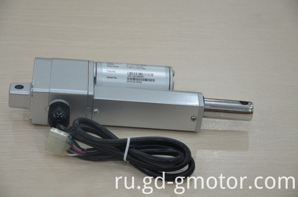 electric piston actuator