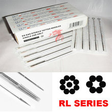 Disposable Sterilized Pre-Made Tattoo Needle Round Liner