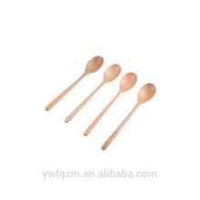 juegos de cuchara de madera hechos a mano, cuchara de helado de madera
