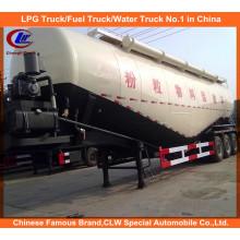 Heavy Duty Dry Bulk Zement Transport Tank Anhänger 30tons