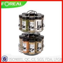 Rack d'épices en fil métallique Kamenstein 16-Jar