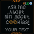 Girl Scout Your Text transferencias al por mayor para camisetas