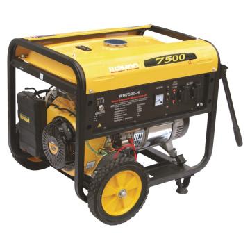 Générateur d'essence à économie de puissance 6000W à énergie nominale Générateur d'essence 6kw (WH7500-H)