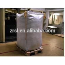 Sac de jumbo de pp / sac en vrac circulaire de pp pour l'emballage minéral / grand sac pour empaqueter le minerai de cuivre, minerai, sable 1000kg zr98