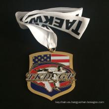 Medalla de oro de la aleación del cinc personalizado de recompensas competitivo campeonato