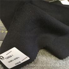Telas contínuas da roupa do revestimento do inverno do projeto da blusa do velo da caxemira anti-estática de lãs