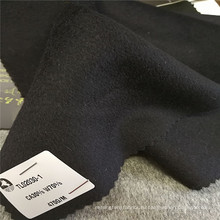 Анти-статическое шерсть кашемир трикотажные блузки дизайн зима твердые пальто одежды ткани