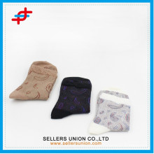 2015 neue Damen spitzen fancy Baumwollsocken