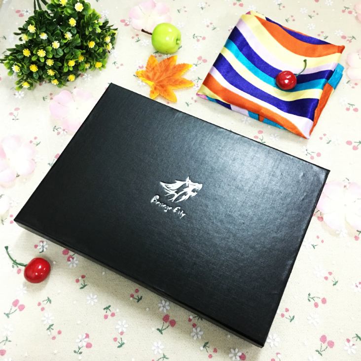 Luxury scarf paper box