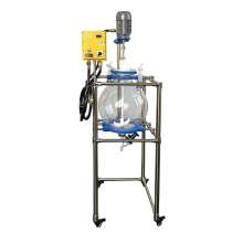 50l Customized Laboratory Chemical mixing glass vessel reactor