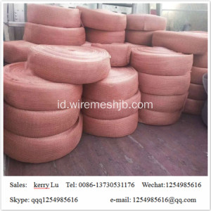 Copper Rajutan Woven Wire Screen Mesh Untuk Filter