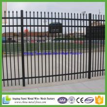 Haut de la page Australie Standard 2.1mx2.4m traditionnelle clôture en acier soudé commercial