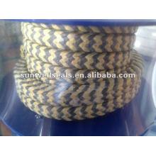 Графит PTFE и арамидное волокно в плетеной упаковке Zebra