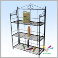 customized adjustable sturdy welded metal wire wire display spinner racks
