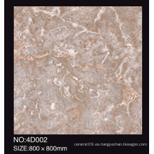 Azulejo de suelo de cerámica rústica / Azulejo de piso de porcelana esmaltado