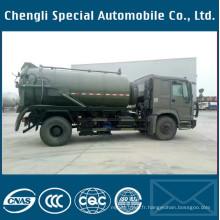 Camion d'aspiration fécale d'égout de véhicule spécialisé de transport de 4X4