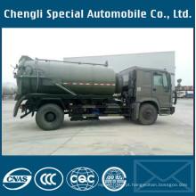 Caminhão de sucção fecal de esgoto de transporte especializado de veículos 4X4