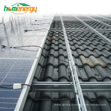 Système de montage solaire à toit incliné sur grille Système de montage solaire PV pour photovoltaïque