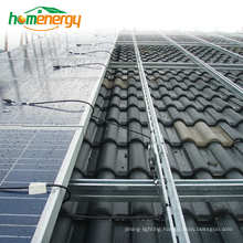 Pitched Roof Solar Mounting System On Grid PV Solar Mounting System for Photovoltaic