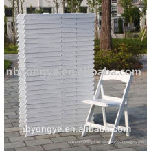 Hot selling high quality resin wedding folding chair