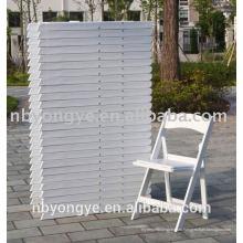 Горячее продавая высокое качество смолаы свадьбы складной стул