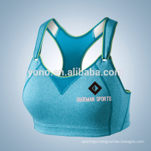 Sexy V-neck women fitness yoga sports bra