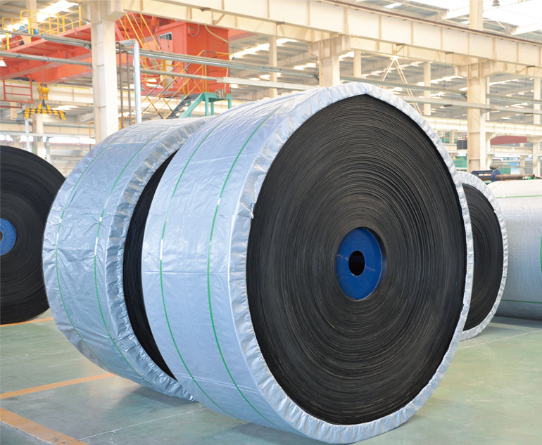 Steel cord conveyor belt used for mine