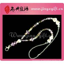 Joyería de moda Bling Crystal Bead Necklace Lanyard