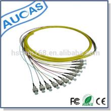 """Preço de fábrica om3 sc pigtail de fibra óptica para instalação padrão de racks de 19 """""""