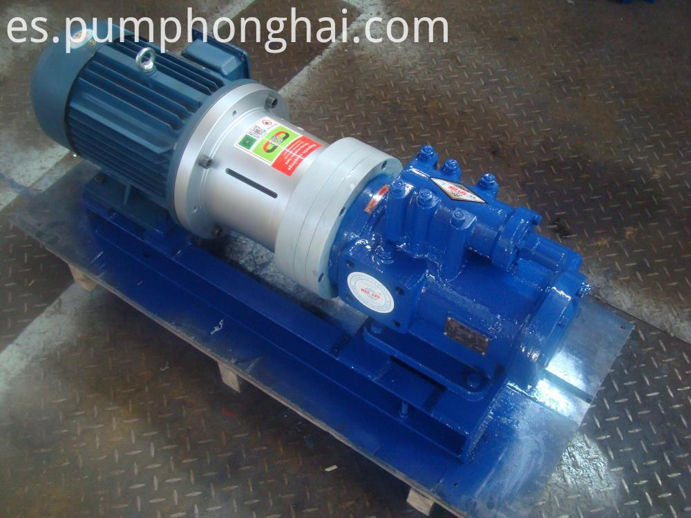 magnetic screw pump