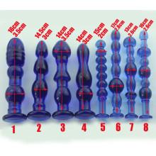 Adult Sex Toys Crystal Glass Dildo for Women Ij_P10046
