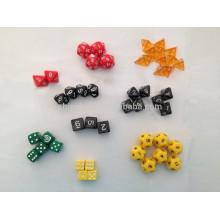 Plastic custom dices