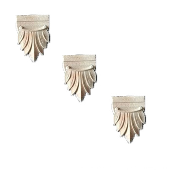 Leaf small Wood Appliques for furniture