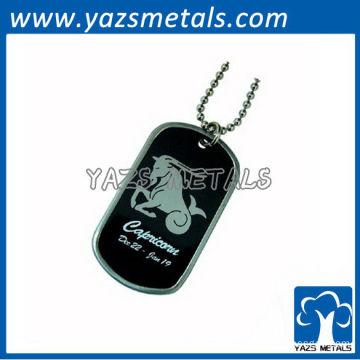customize horoscope army dog tag, Capricorn dog tag