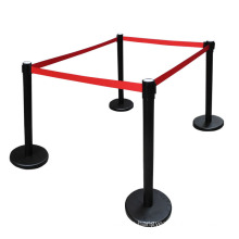 Safety Product Queue manager ,Roadway products crowd control barrier with Retractable belt